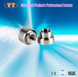 En acier inoxydable d'usinage CNC connecteur rapide pour l'écrou de tuyau d'huile haute pression