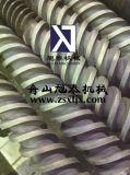 Tambor bimetálico do parafuso da extrusão da tubulação do PVC do tambor do parafuso da extrusora