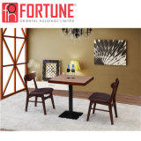 고품질 암갈색 나무로 되는 대중음식점 테이블 및 의자 (FOH-BCA53)