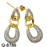 De nieuwe Levering voor doorverkoop van de Fabriek van de Oorringen van de Juwelen van de Aankomst Zilveren
