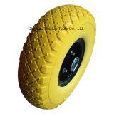 中国カラーPUの泡の平らで自由なHandtrolleyの車輪