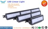 Tipo linear rojo 50W 100W 150W 200W LED del EMC LVD RoHS del Ce de la UL Dlc TUV que cuelga el área ligera/iluminación del campo de fútbol del deporte/del campo del baloncesto
