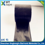 cinta echada a un lado del silicón del paño del Teflon del negro del espesor de 0.13m m sola