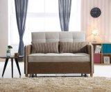 Tela, seção, lazer, moderno, Home, escritório, base do sofá