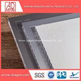 Alta resistência de PVDF painéis de alumínio alveolado anticorrosão por energia solar