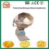 Pommes chips mélangeant et assaisonnant la machine