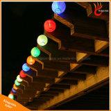 Quirlande électrique actionnée solaire de chaîne de caractères de fête de lampe de lanterne de 20 DEL