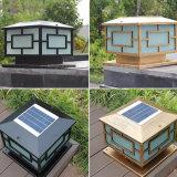 太陽庭ライト太陽柱ライト屋外の照明のための太陽ボラードライト