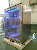 Escolhir o refrigerador traseiro da cerveja do refrigerador da barra com o refrigerador ajudado ventilador da cerveja do sistema refrigerando