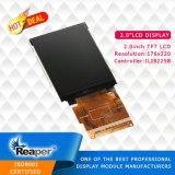 TFT LCDのモジュール2.0inch 176X220 Ili9225b Spi 25pin TFT LCDの表示