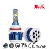T3 directo 9004 de la fábrica luz del coche de la luz LED del trabajo de 9007 LED