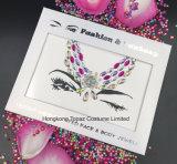 날개는 구성한다 부속품 귀영나팔 스티커 돔 스티커 모조 다이아몬드에게 접착성 스티커 (S019)를
