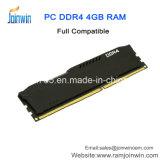 RAM Heatsink DDR4 4GB 2133MHz PC4-17000 288pins RAM разыгрыша черноты прямой связи с розничной торговлей фабрики