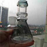 Tubo que fuma de cristal del tubo del petróleo del LENGUADO de los recicladores rectos al por mayor del aparejo
