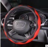 36/38/40cm het Algemene begrip van de Dekking van het Stuurwiel van de Auto van de Kleur van het Leer van pvc