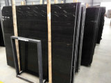 安い価格の黒の木の大理石のタイル及び平板