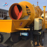 Dieselmotor-beweglicher Betonmischer und Pumpe