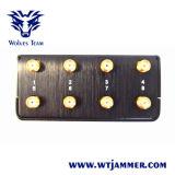 8アンテナ手持ち型GSM 3G 4glte 4gwimax Gpsl1/L2 Lojackの電話妨害機
