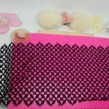 Шнурок швейцарской вычуры утески полиэфира вышивки ширины шнурка Nylon для одежд & домашних тканиь