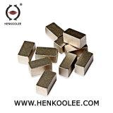 M forma o segmento de diamante para corte de granito