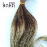 100% de dois tons de melhor qualidade 12 polegada I Dica de cabelo humano ramal