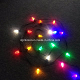 Éclairage de vacances LED String Light RGB LED C7 Ampoule de Noël
