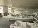 Da fibra de vidro inflável deslustrado V dos barcos de Liya reforço profundo da casca 660