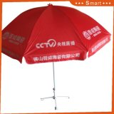 Bekanntmachen des Strand-Regenschirm-Förderung-Strandsun-Sonnenschirmes, der fördernden Regenschirm bekanntmacht