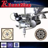 Teenking 5 Water-Jet van de As Scherpe Machine met Pomp Kmt en Hoofd Beveling