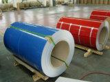 Il colore ha ricoperto la striscia di alluminio della bobina di filo di lama perfetto