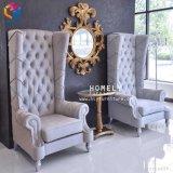 Le Roi Queen Chair pour la décoration de mariage utilisée pour la location Hly-Sf109