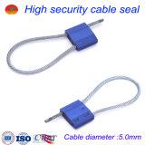 Selos ajustáveis do cabo do metal de selo do recipiente da alta segurança