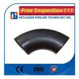 Codo de 45 grados de hierro fundido del tubo de codo de 90 grados del tubo de conexión del tubo de montaje de la norma DIN 2448 Codo de acero al carbono