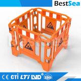 軽量のPEのプラスチック交通安全のゲート作業障壁