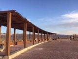De buiten Milieuvriendelijke Decoratieve Samengestelde Pergola van de Tuin met 60*160mm