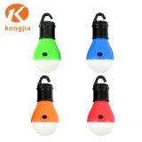 3lâmpada LED Lâmpada colorida Shape Camping Lantern Hangingtent Luz para piscina Camping