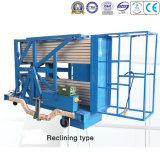 double plate-forme de fonctionnement aérienne d'alliage d'aluminium du fléau 200kg