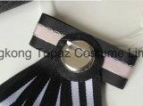 2018女性の衣裳の絹製ネクタイのBowknotのブローチ(CB-08)のための最新の方法最上質のラインストーンのレトロのブローチ