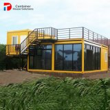Casa personalizada nova 20FT do recipiente do bloco liso para o escritório