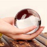 Het beste die de Gepersonaliseerde 3D Bal van het Glas van het Kristal van de Laser voor de Decoratie en de Gift van Kerstmis verkopen