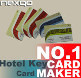 Baixo cartão chave impresso PVC do hotel RFID do custo para a gerência