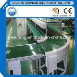 Girando la curva de cinta transportadora cinta transportadora cinta transportadora cinta transportadora de arco de caída