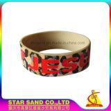 Qualität färbt Silikon-Band, helles Silikon-Gummi-Armband für Sport