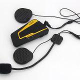 4 curseurs 1200 mètres de Bluetooth de moto d'intercom mains libres sans fil de casque