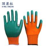 Gants imperméables à l'eau de nitriles protecteurs de sûreté avec la bonne qualité