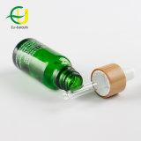 20ml de groene Fles van het Glas met het Druppelbuisje van het Bamboe