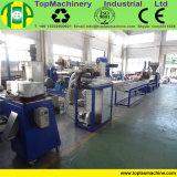 Máquina de reciclagem de resíduos plásticos pós-consumo PE de plástico PET Linha de Pelotização de flocos de PP