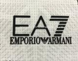 Logotipo da transferência térmica da placa do silicone da cor do dobro da camada dobro para acessórios de roupa