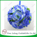 Bola de flores colgante flor rosa artificial para la boda de bola