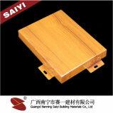 Do revestimento em linha do poliéster da loja de China decoração de suspensão de alumínio do teto